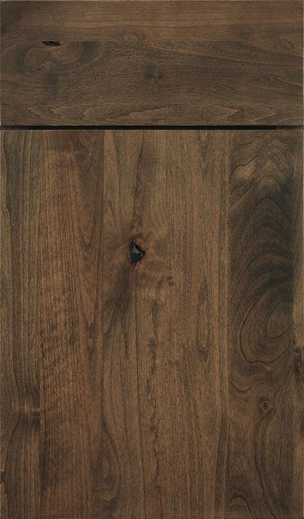 Mink Cabinet Stain On Rustic Alder Decora