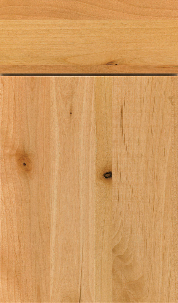 Marquis Rustic Alder Slab Cabinet Door in Natural