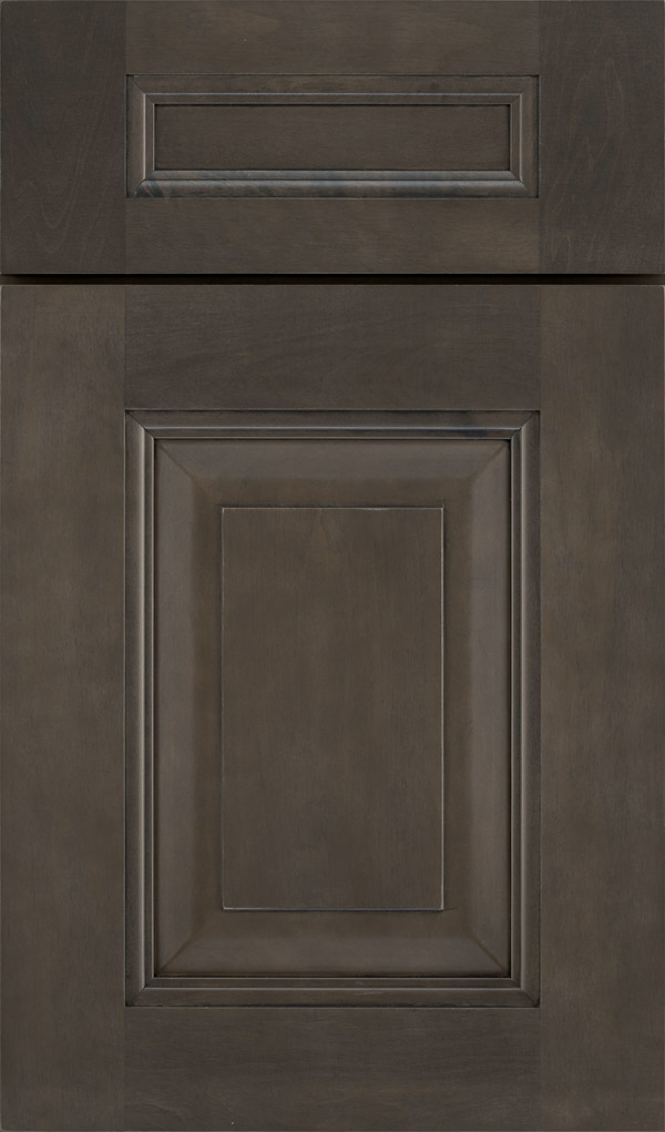 Maxwell 5 Piece Maple Raised Panel Cabinet Door in Shadow
