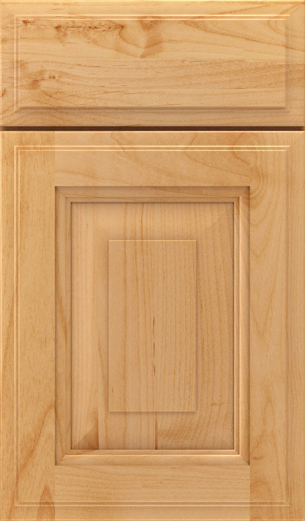Maxwell Alder Raised Panel Cabinet Door in Natural