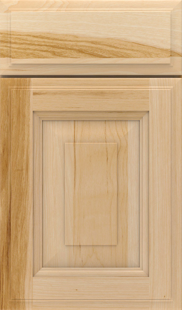 Maxwell Hickory Raised Panel Cabinet Door in Natural