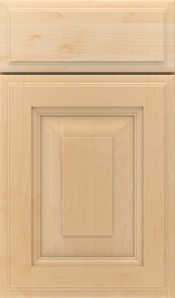 Maxwell Maple Raised Panel Cabinet Door in Natural