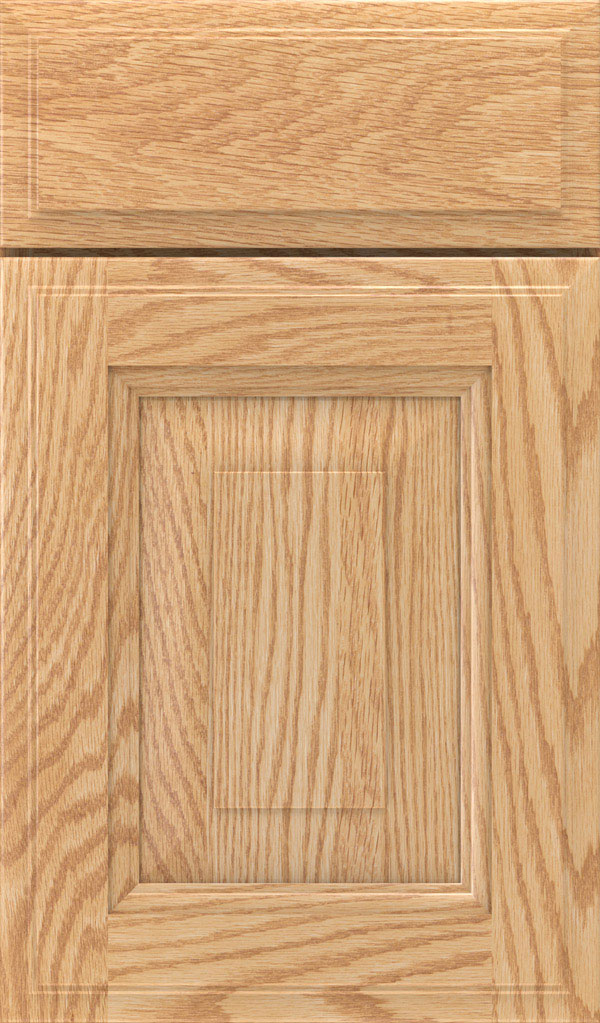 Maxwell Oak Raised Panel Cabinet Door in Natural