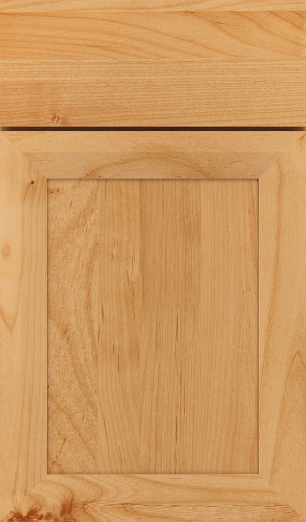Modesto Alder Recessed Panel Cabinet Door in Natural