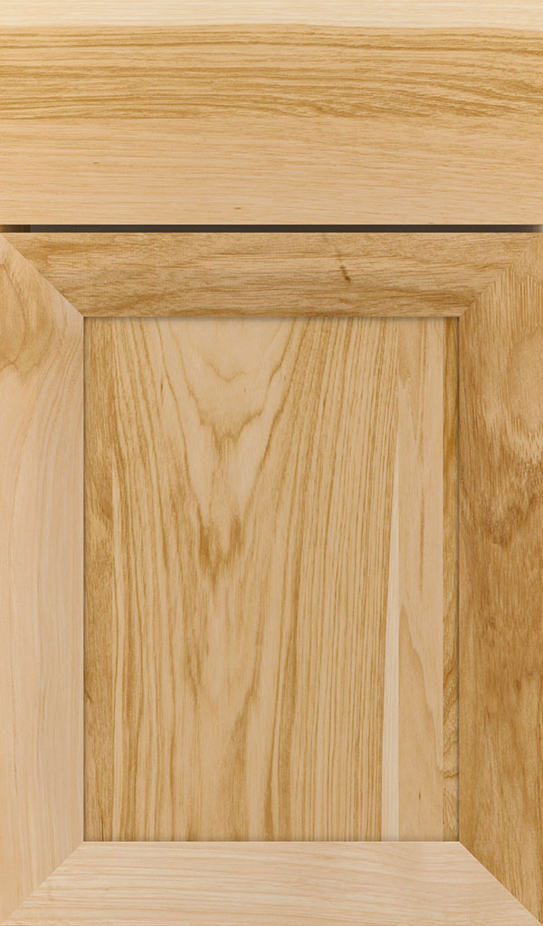 Modesto Hickory Recessed Panel Cabinet Door in Natural