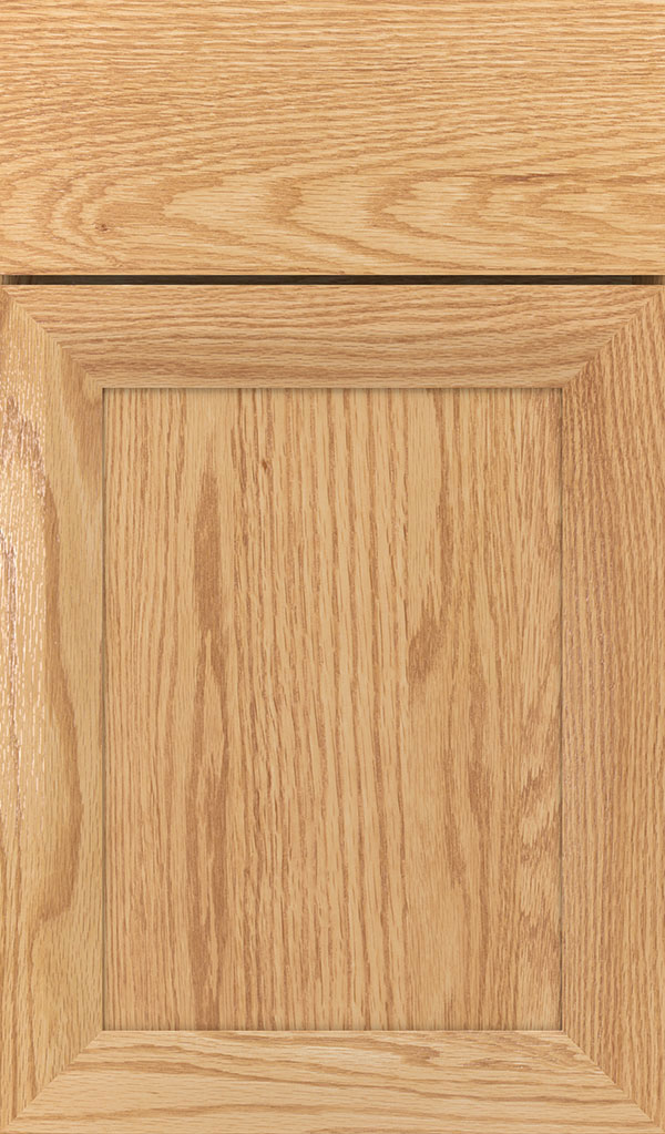 Modesto Oak Recessed Panel Cabinet Door in Natural
