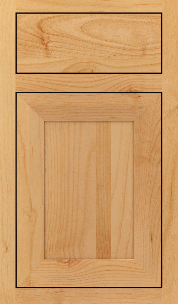 Modesto Alder Inset Cabint Door in Natural