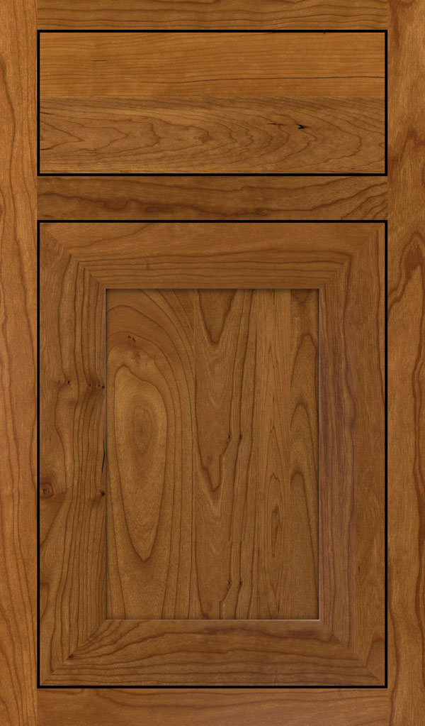 Modesto Cherry Inset Cabint Door in Suede