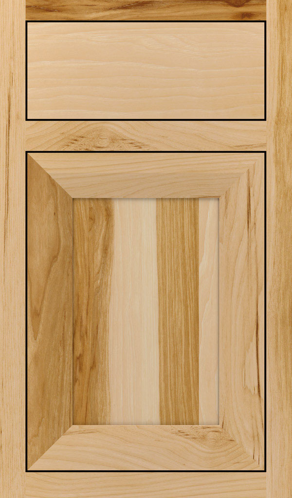 Modesto; Modesto Hickory Inset Cabint Door in Natural  sc 1 st  Decora Cabinets & Natural Cabinet Finish on Hickory - Decora Cabinetry