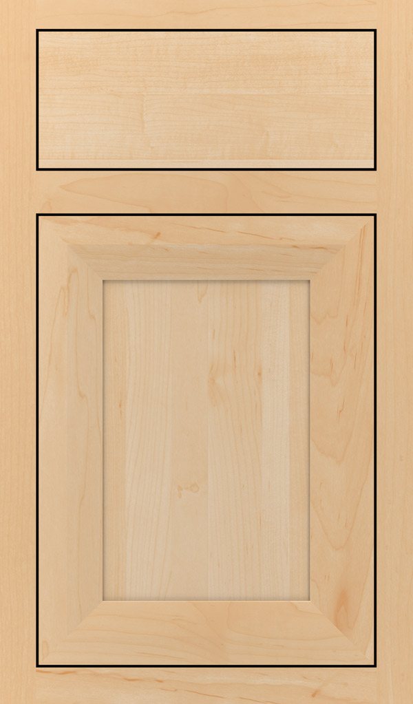 Modesto Maple Inset Cabint Door in Natural