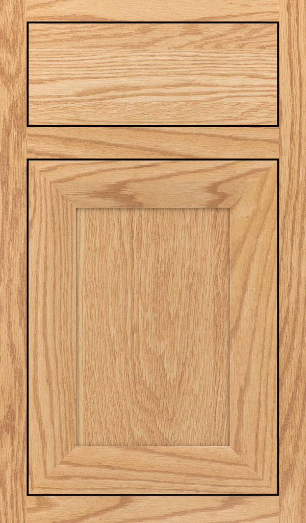 Modesto Oak Inset Cabint Door in Natural