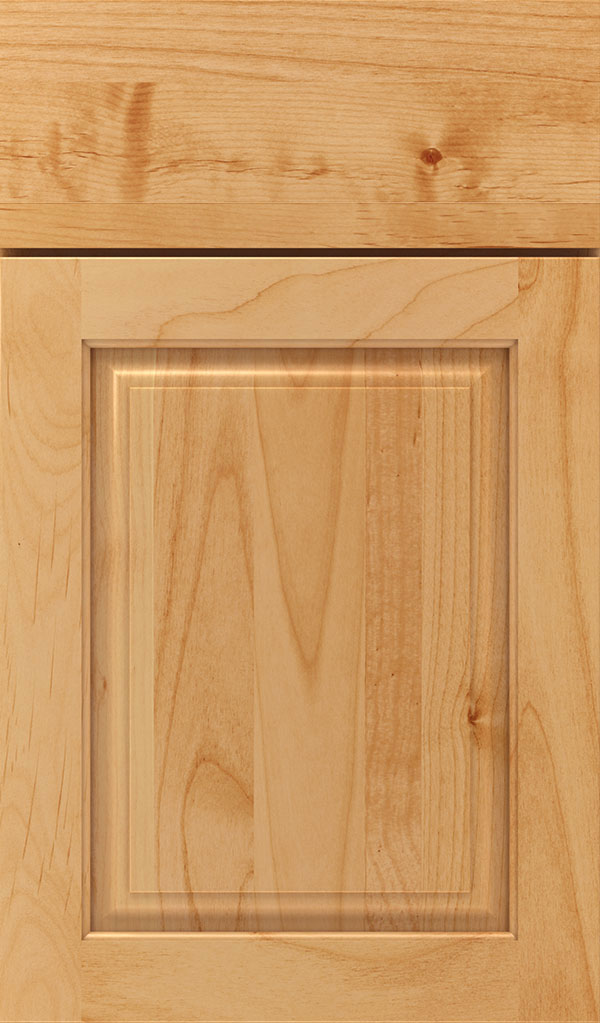 Plaza Alder Raised Panel Cabinet Door in Natural