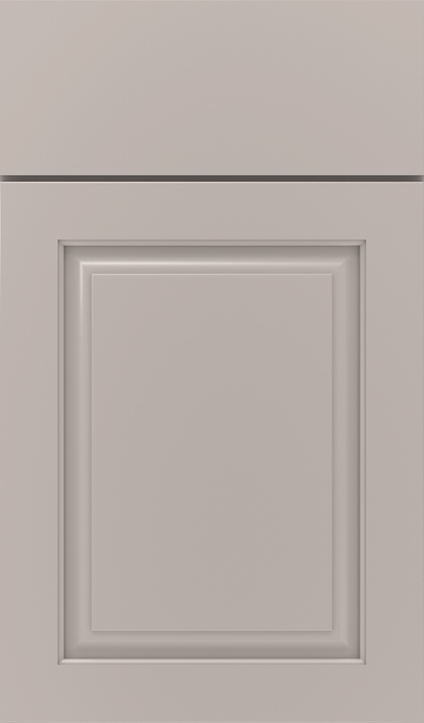 Plaza Maple raised panel cabinet door in Creekstone