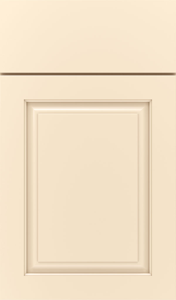Plaza Maple Raised Panel Cabinet Door in Jasmine