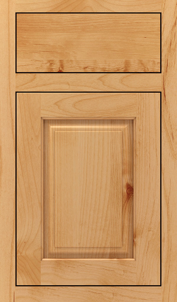 Plaza Alder Inset Cabinet Door in Natural