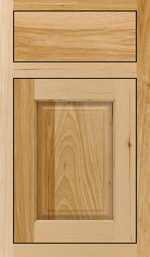 Plaza Hickory Inset Cabinet Door in Natural