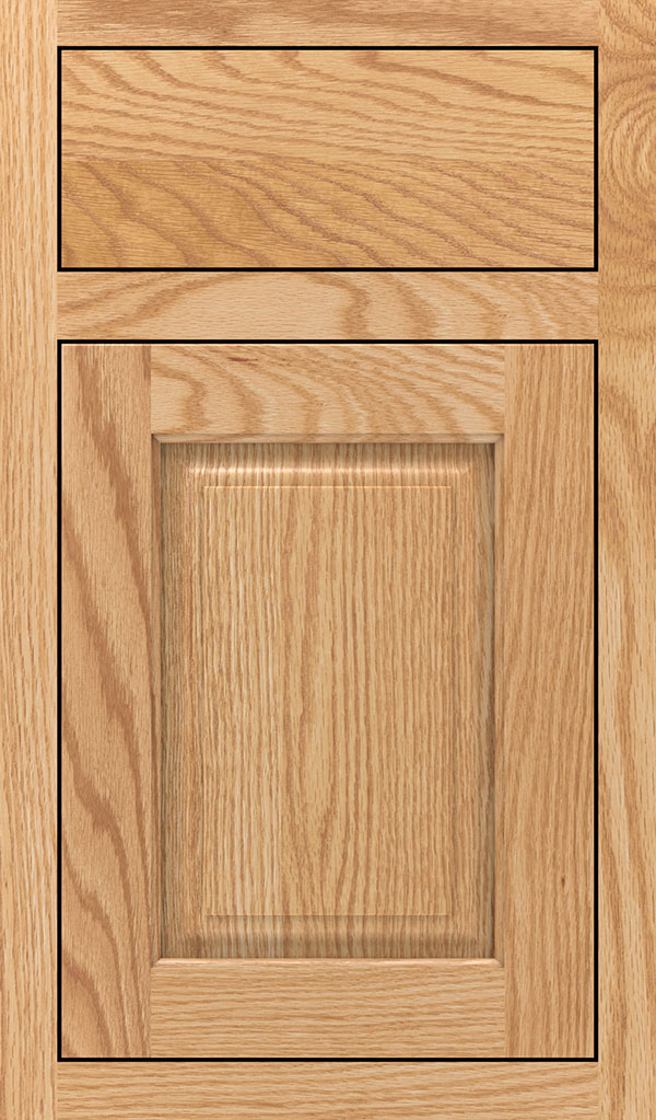Plaza Oak Inset Cabinet Door in Natural
