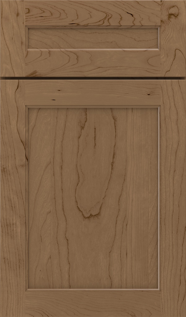 prescott_5pc_cherry_flat_panel_cabinet_door_gunny