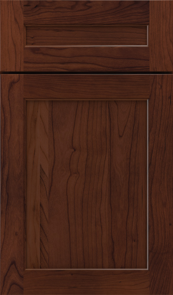 prescott_5pc_cherry_flat_panel_cabinet_door_sepia