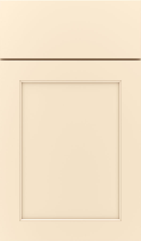 Prescott Maple Flat Panel Cabinet Door in Jasmine