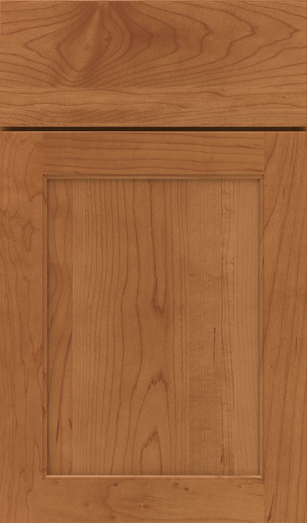 Prescott Maple Flat Panel Cabinet Door in Suede