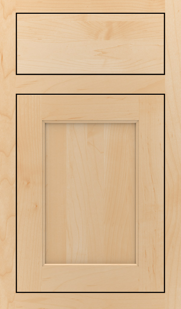 Prescott Maple Inset Cabinet Door in Natural