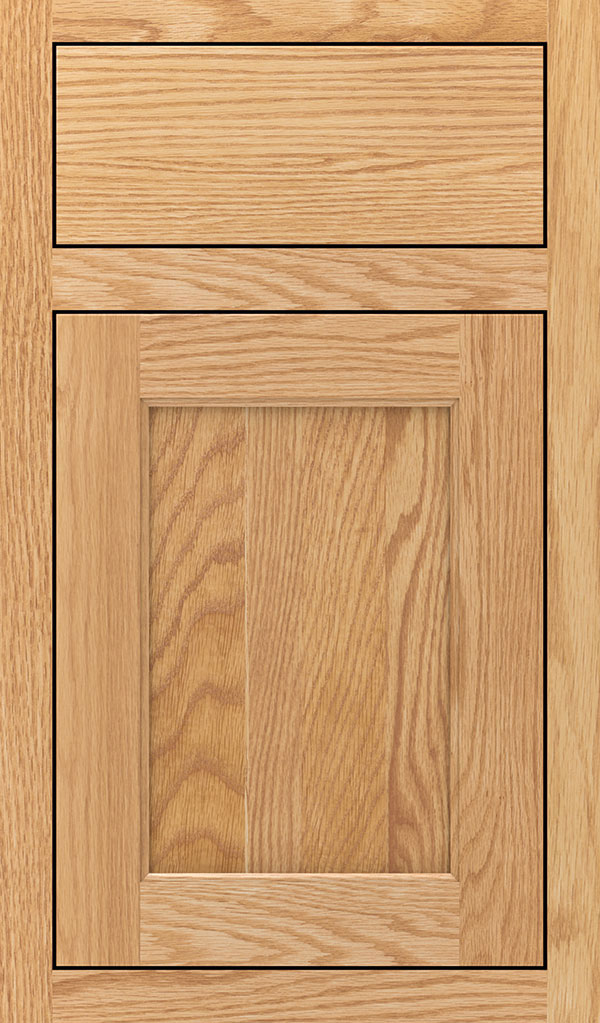 Prescott Oak Inset Cabinet Door in Natural