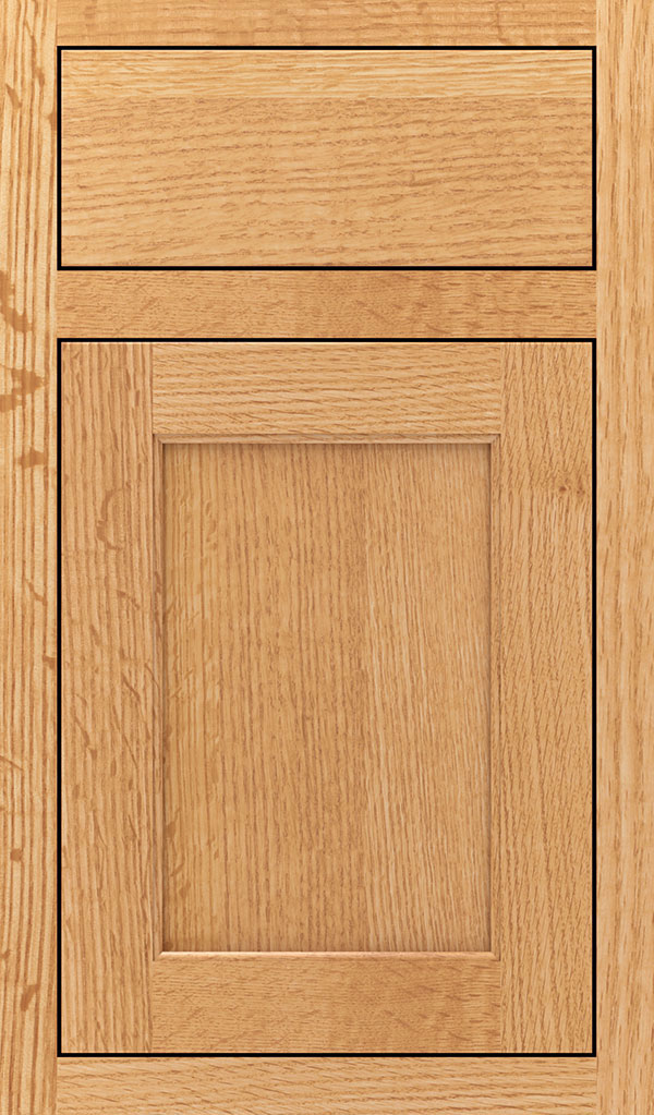Prescott Quartersawn Oak Inset Cabinet Door in Natural