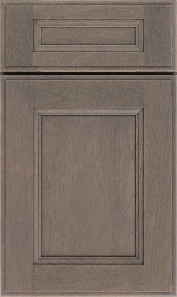 Roslyn 5 Piece Cherry Shaker Style Cabinet Door in Cliff