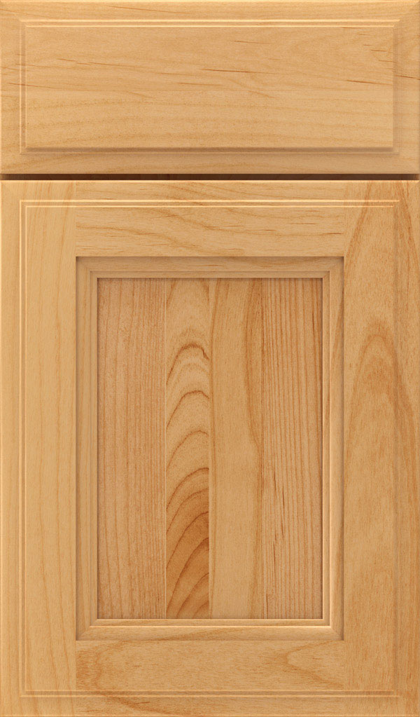 Roslyn Alder Shaker Style Cabinet Door in Natural