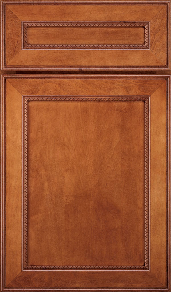 Savannah 5 Piece Maple Flat Panel Cabinet Door in Brandywine
