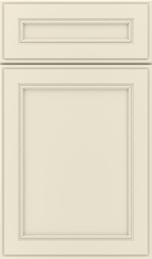 Savannah 5 Piece Maple Flat Panel Cabinet Door in Chantille