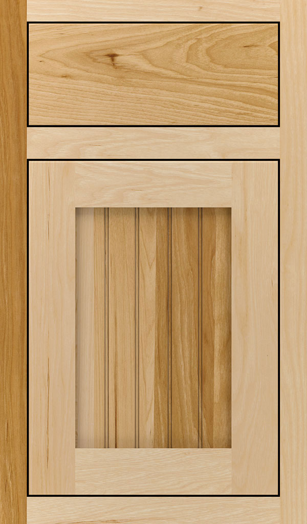 Simsbury Hickory Inset Cabinet Door in Natural
