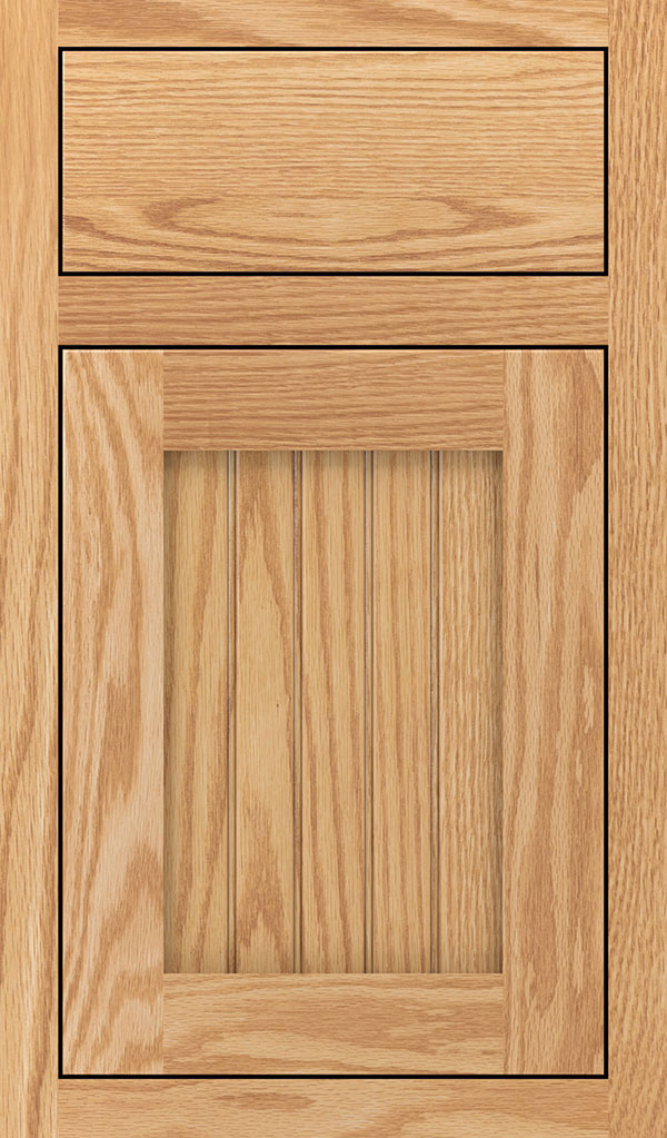 Simsbury Oak Inset Cabinet Door in Natural