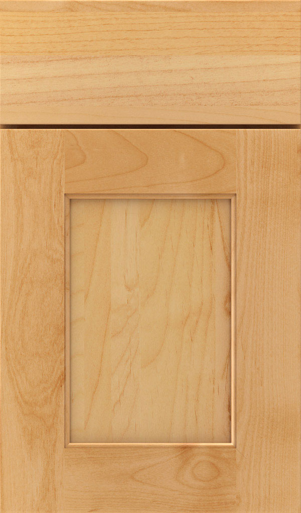 Sloan Alder Recessed Panel Cabinet Door in Natural