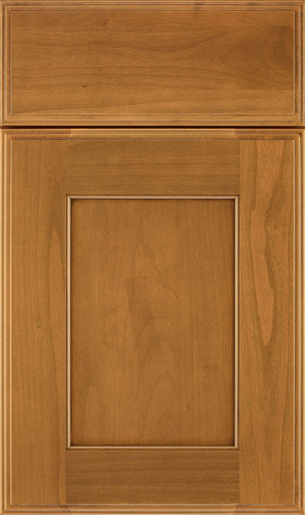 Sloan Alder Recessed Panel Cabinet Door in Wheatfield