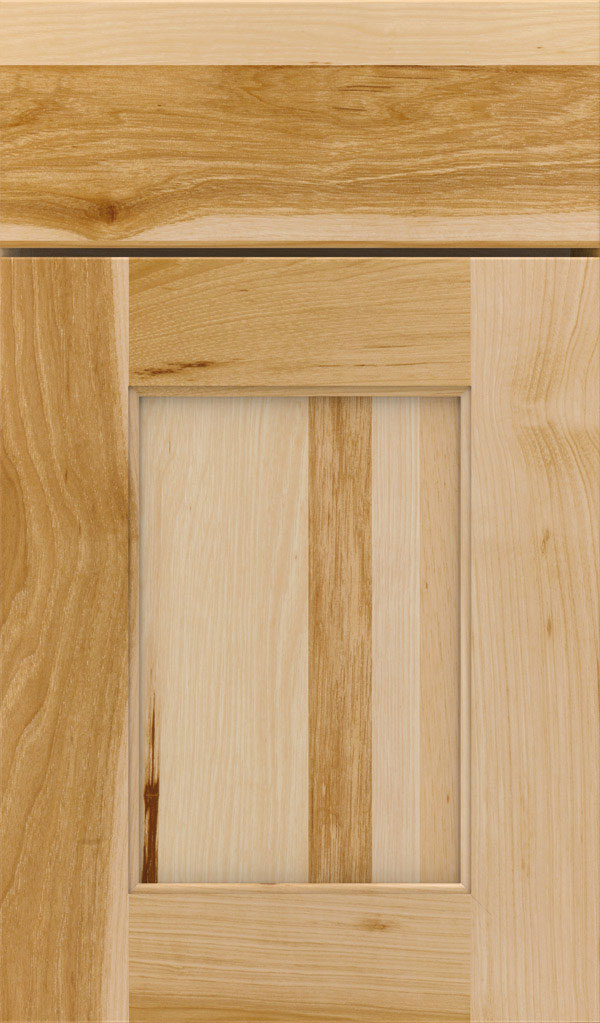 Sloan Hickory Recessed Panel Cabinet Door in Natural