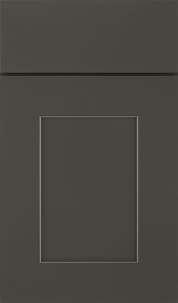 Sloan Maple Recessed Panel Cabinet Door in Black Fox