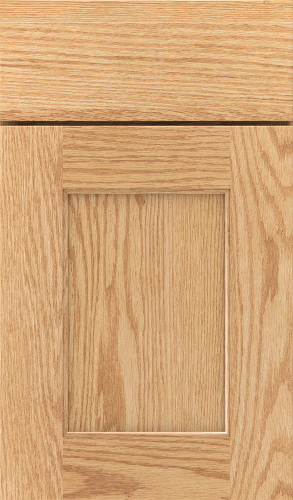 Sloan Oak Recessed Panel Cabinet Door in Natural