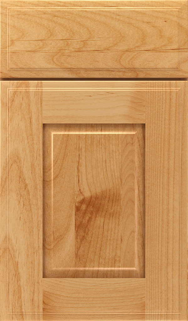 Toulan Alder Raised Panel Cabinet Door in Natural