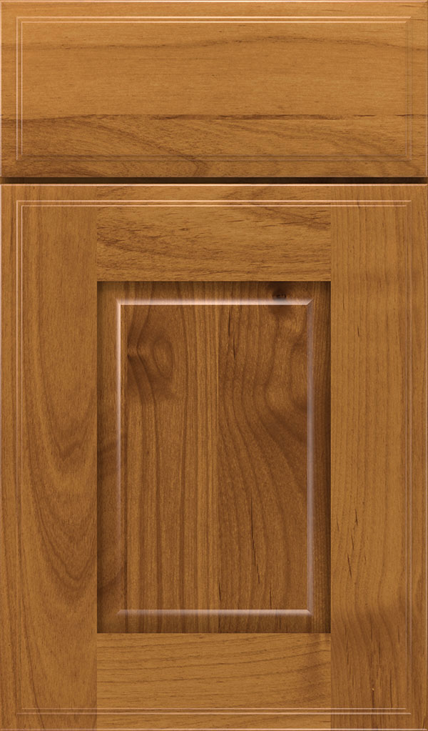 Toulan Alder Raised Panel Cabinet Door in Wheatfield