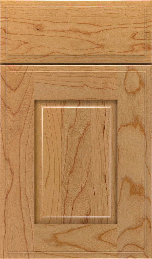 Toulan Cherry Raised Panel Cabinet Door in Natural