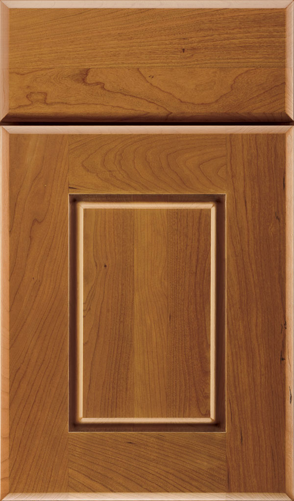 Toulan Cherry Raised Panel Cabinet Door in Pheasant