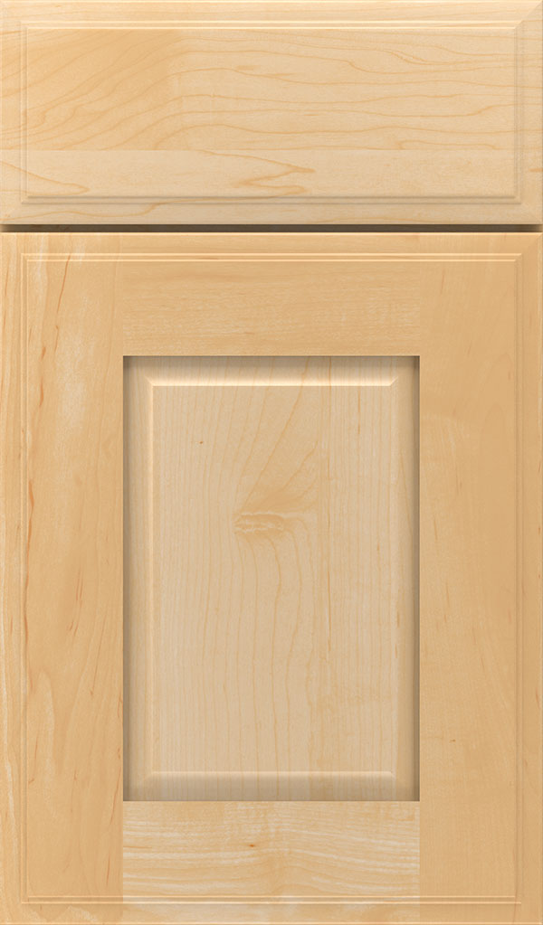 Toulan Maple Raised Panel Cabinet Door in Natural