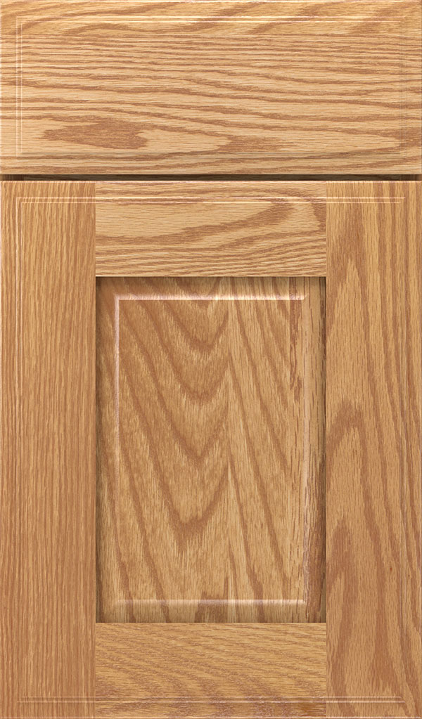 Toulan Oak Raised Panel Cabinet Door in Natural