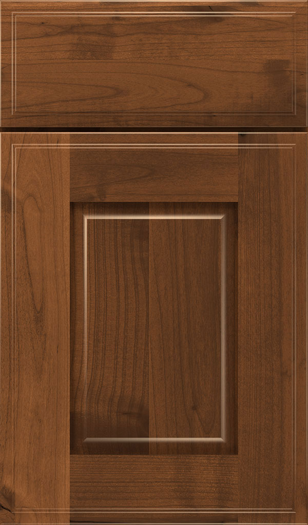 Toulan Rustic Alder Raised Panel Cabinet Door in Suede