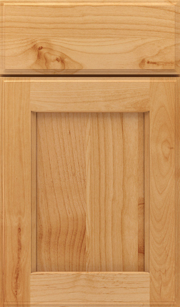 Treyburn Alder Recessed Panel Cabinet Door in Natural