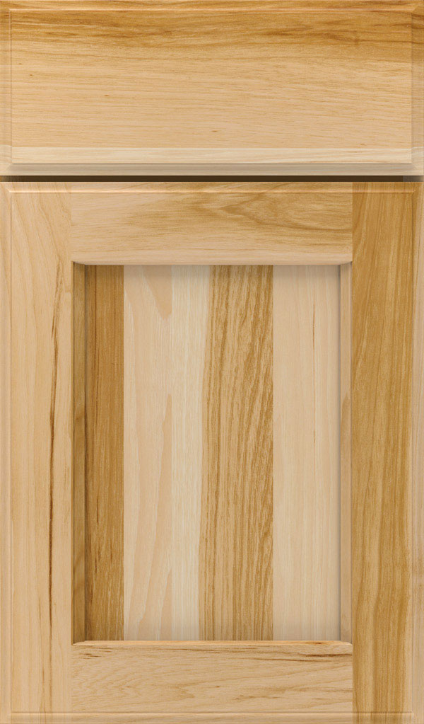 Treyburn Hickory recessed panel cabinet door in Natural