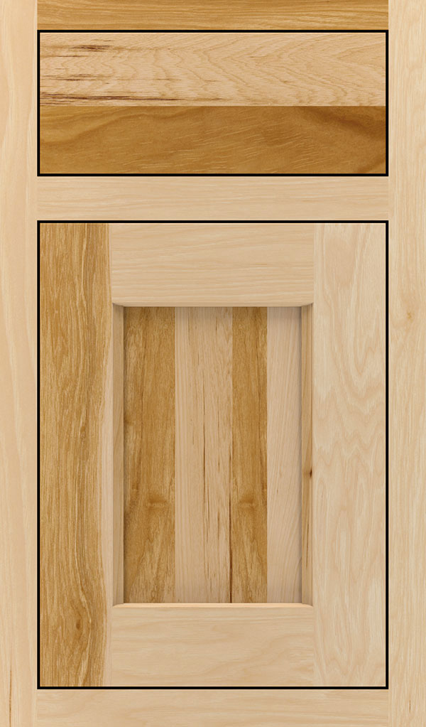 Treyburn Hickory Inset Cabinet Door in Natural