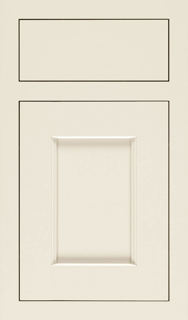 Treyburn Maple Inset Cabinet Door in Chantille
